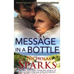 Message In A Bottle  Paperback, Nicholas Sparks)