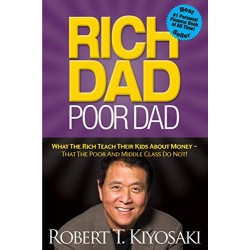 Rich Dad Poor Dad by Robert Kiyosaki (Paperback)