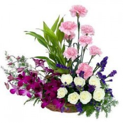 Flowers Mixed Basket