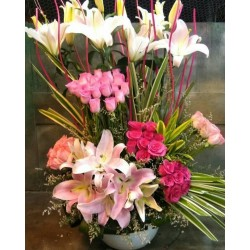Exotic Arrangement Flowers