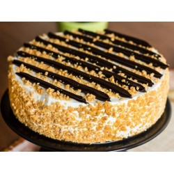 Chocolate Butterscotch Pastry Cake