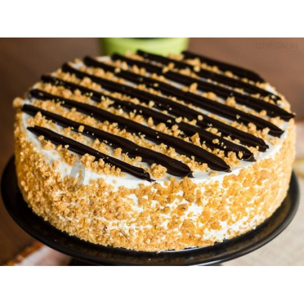 Chocolate Butterscotch Pastry Eggless Cake