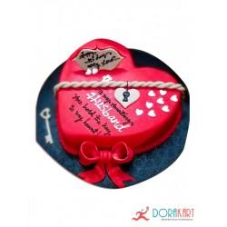 Birthday/Wedding cake for Husband/Wife