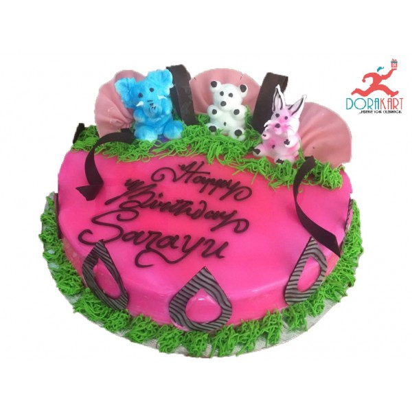 Yummy Colorful Cakes  - 2kg