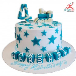 Web Of Happiness Cake - 3Kg