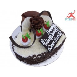 Milky and Chocolate Designer Cake - 2Kg