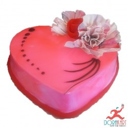 Heart Love You Cake
