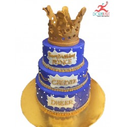 King Designer Step Cake(5Kg)