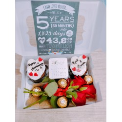 Anniversary Special Cup cakes