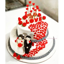 Two Step Love Cake