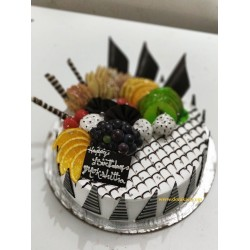 Mixed Fruit designed cake