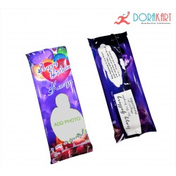 Customized Chocolate Cover Photo - 120Gms Dairy Milk Silk