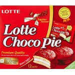 Lotte Choco Pie (pack Of 12), Carton (336 Gms)