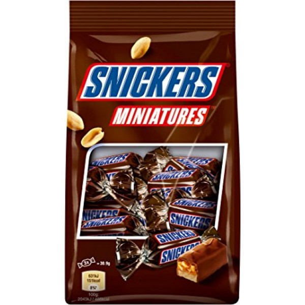 Snickers Miniatures Chocolates  (150 Gms)