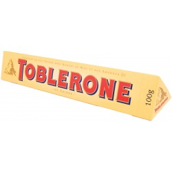 Toblerone Swiss Milk Chocolate, 100g (Pack of 2)