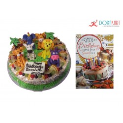 Heartfelt Best Wishes (3Kg Cake)