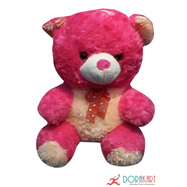 Attractive Pink Teddy Bear - 17 Inches