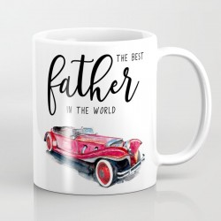 Personalized Printed Mug  - Best father in the world