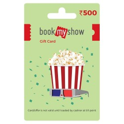 BookMyShow Gift Card - ₹500