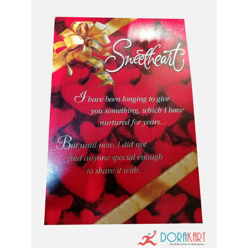 Greeting cards sweet heart greeting card m4hsunfo