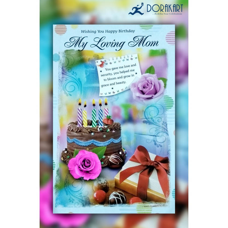 Dorakart greeting cards online greeting cards delivery greeting new my loving mom greeting card m4hsunfo
