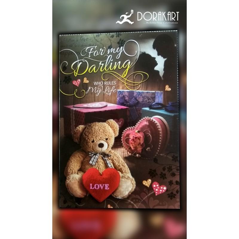 Dorakart greeting cards online greeting cards delivery greeting for my darling greeting cards m4hsunfo