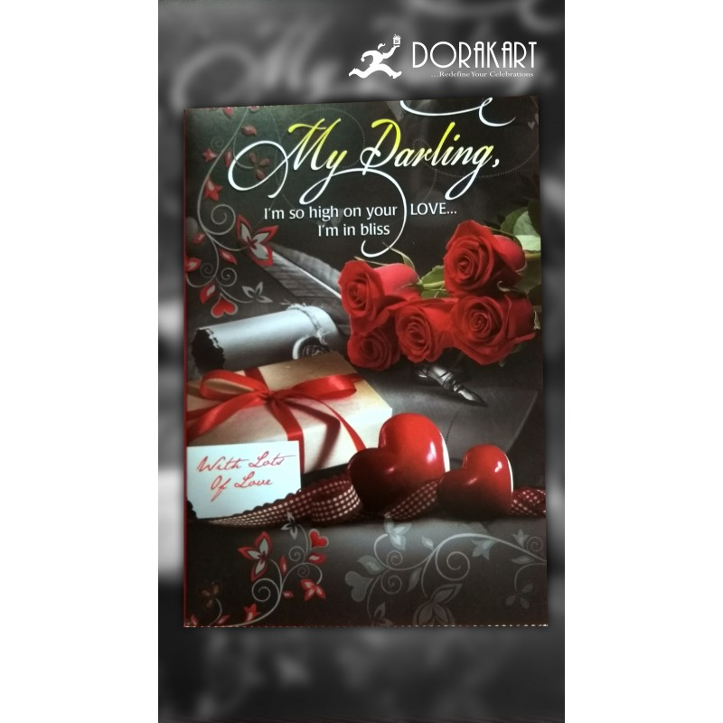 Dorakart greeting cards online greeting cards delivery greeting 2 3 days my darling greeting cards m4hsunfo