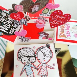 Pop up love card