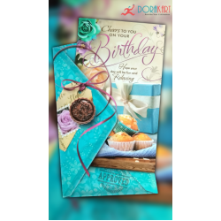 Cheers to Your Birthday Relaxing  - Greeting Card