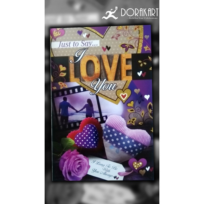 Dorakart greeting cards online greeting cards delivery greeting just to say i love you greeting card m4hsunfo