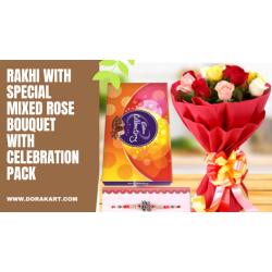 Raksha Bandhan Special Combo - Bouquet and Rakhi Special